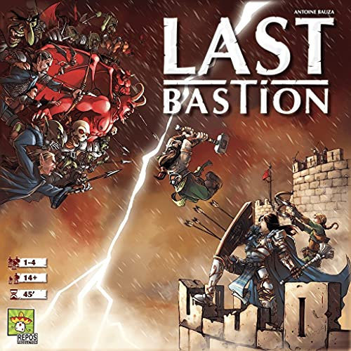 Last Bastion Board Game