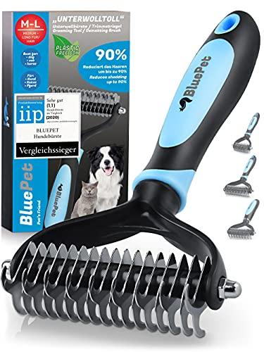 BluePet® Brosse pour Chien et Chat pour Poils Longs -...