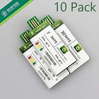 Freshliance Temperature Recorder 10 Pack 7 Days Single Use USB Data Logger 129600 Recording Points No Setup, no Software