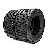Parts-Diyer Set of (2) 23x10.50x12 Lawn Mower Golf Cart Garden Tires Turf Tread 4PR P332 Load Range...