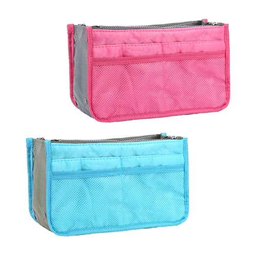 MEZOOM bolsos de Organizador 2 piezas organizador de inserciones bolsa de viaje...