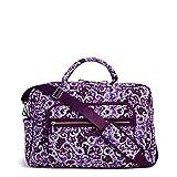Vera Bradley Signature Cotton Weekender Travel Bag, Lilac Paisley