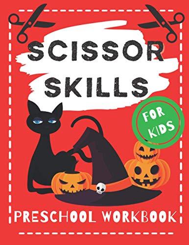 [画像:Scissor Skills Preschool Workbook For Kids: Halloween Version with Witches, Ghosts, Pumpkins, Vampires and More]