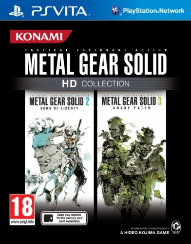 Metal Gear Solid HD Collection (Vita) [UK Import]
