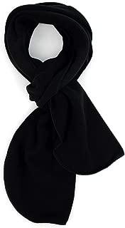 Solid Color 100% Polyester Fleece Women & men's Winter Scarf