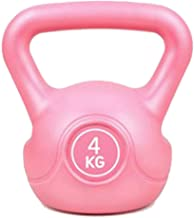 LTING Durable Kettlebell Home Fitness Exercise Body Strength Ball Weight with Handle, Professional Grade Vinyl Coated Weig...