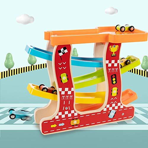 Lihgfw Children's Toy Track Inertial auto puzzel Early Education Speelgoed Jongens en meisjes 3-6 jaar oud Ouder-kind interactief spel