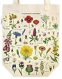 Cavallini Papers & Co. Wildflowers Tote Bag, Multi
