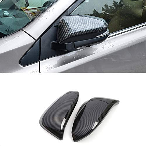 for Toyota 4Runner 4WD 2014 2015 2016 2017 2018 2019 2020 Carbon Fiber ABS Car Accessories Rear view Rear Back View Mirror Cover Trim 2pcs