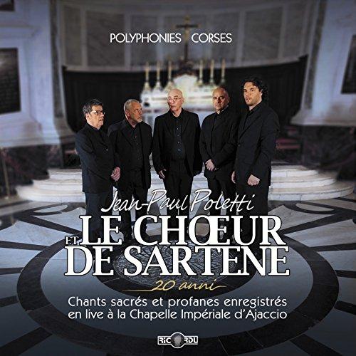 20 anni, chants sacrés et profanes enregistrés en live à la chapelle impériale d'Ajaccio