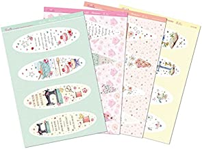 Hunkydory Window to the Heart Luxury Bookmark Toppers 12 Sheets bookmark toppers SSW106