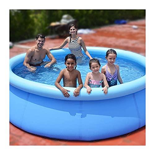 piscina hinchable jacuzzi Piscina Inflable Sobre El Suelo Para Niños, Adultos   Piscinas Familiares Redondas De Instalación Rápida   Jardín Al Aire Libre, Patio Trasero, Fiesta De Agua De Vera