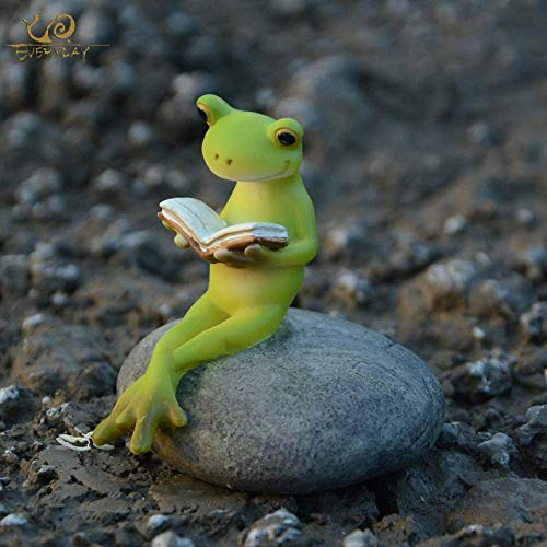 LXYZ Home Decor Ornament Figurine Gift Collection Animal Frog Fairy Garden Figurines Miniature Landscape Home Decoration Birthday Gift Souvenirs