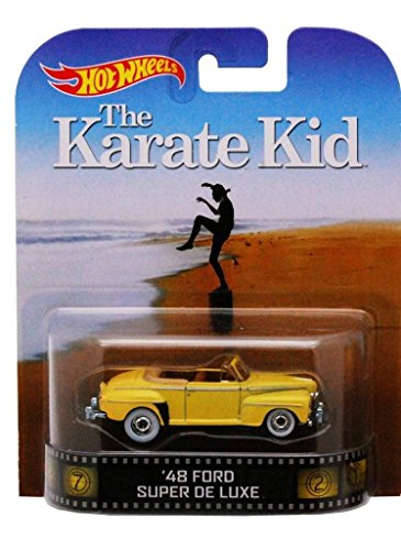 Hot Wheels '48 Ford Super De Luxe The Karate Kid 2014 Retro Series Die Cast Vehicle