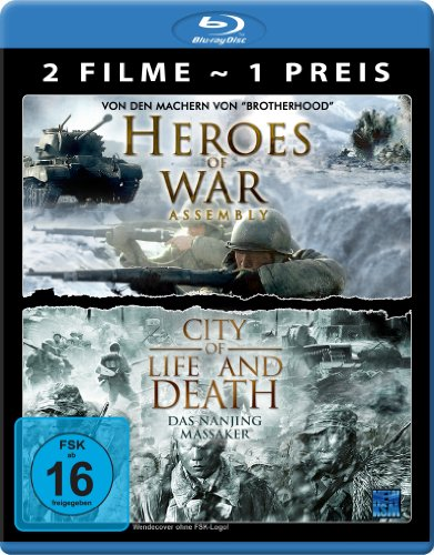 Asia War Edition (Heroes of War / City Of Life And Death) [Blu-ray] [Collector's Edition]