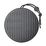 RSHJD Altavoz Impermeable, Altavoz inalámbrico Bluetooth portátil con Sonido Resistente al Polvo e Impermeable y Sonido Envolvente de 360 ° 24 Horas de Vida útil para Viajar, hogar, Fiesta,Negro