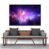 Sterne Nebel Modern Print Wall Decor Wohnzimmer Raum Sterne