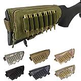 Gexgune Tactical Fesses Joue Reste Munitions Poche Fusil De Chasse Carabine Stock...