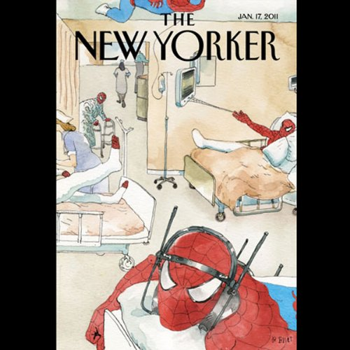 The New Yorker, January 17th 2011 (Jill Lepore, Calvin Tompkins, Amos Oz) cover art