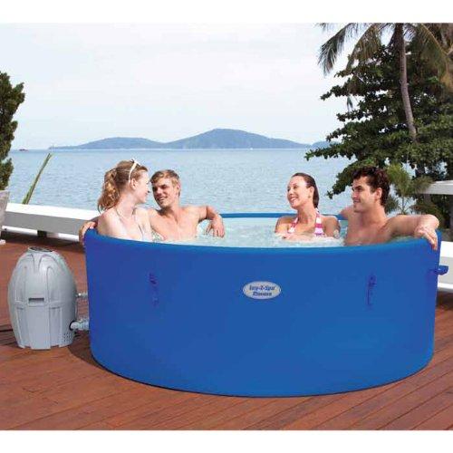 Bestway Lay-Z-Spa Monaco (54113) tragbar aufblasbarer Whirlpool Whirlpool