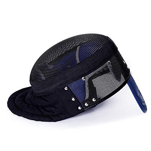 Hyfec Zaunmaske – CE 350N internationale Zertifizierung – Zaunausrüstung – Zaun-Schutzausrüstung – Zaun-Zubehör – Zaun-Schutzausrüstung für Erwachsene/Jugendliche XS Schwarz fixiert