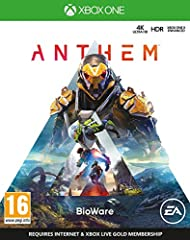 Individual heroes unite to triumph as one: The heart of Anthem is a connected, social experience. Team up with up to three other players in cooperative adventures that reward both teamwork and individual skill. Each player's choice of Javelin exosuit...