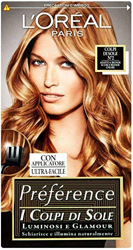 L Oréal Paris Préférence Colpi di Sole Capelli 2 Bionde Scure e Chiare