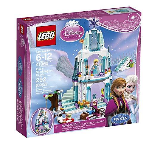 LEGO - El Brillante Castillo de Hielo de Elsa...