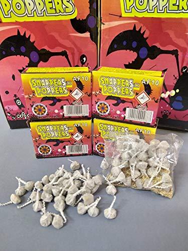 pop pop petardino da ballo 200 pezzi (4 scatole X 50 pz)