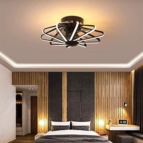 Accesorio de iluminación 2020 Nueva lámpara de techo de la nueva creatividad Ventilador con iluminación y control remoto Función de control moderno Araña Araña Iluminación Lámpara de lámpara Ahorro de