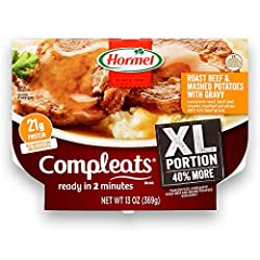 Protein packed with 21 grams per meal Shelf stable; no refrigeration needed Affordable and easy to use Prepared meals, fully cooked, ready to eat in 2 minutes 13 ounce microwave meal; 40 % larger than our 9 ounce meal