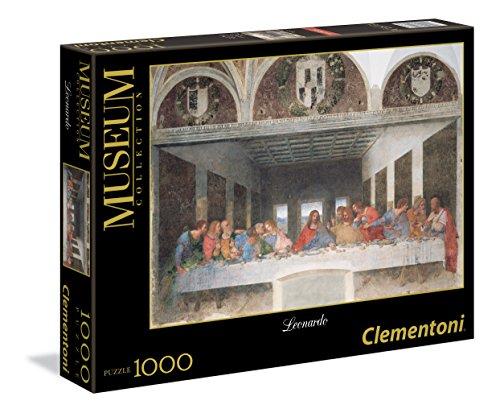 Clementoni- Leonardo-Cenacolo Museum Collection Puzzle, 1000 Pezzi, 31447