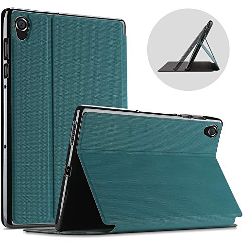 """ProCase Protective Case for Lenovo Tab M10 HD 2nd Gen (TB-X306X) / Smart Tab M10 HD 2nd Gen (TB-X306F), Slim Stand Folio Case Smart Cover for Lenovo M10 HD 2nd Gen 10.1"""" Tablet 2020 Release -Teal"""
