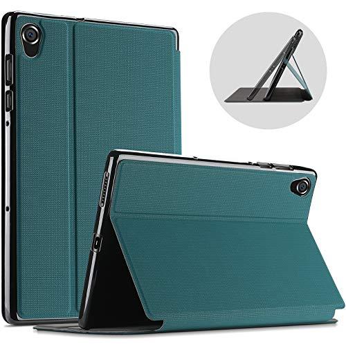 ProCase for Lenovo Tab M10 HD Case 10.1 Inch 2020 (Model: TB-X306F TB-X306X), Slim Folio Protective Stand Case Smart Cover -Teal