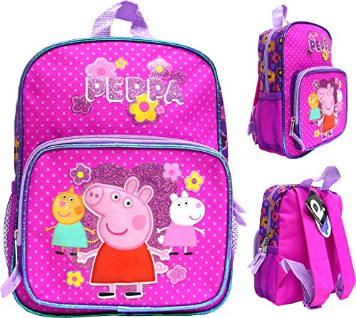 Accessory Innovation Canvas Pink 10' Mini School Backpack