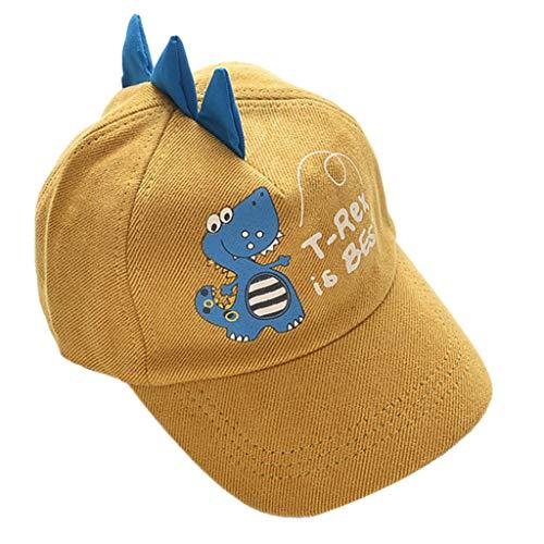 JIACUO Nette Kinder Baby Hut Jungen Mädchen Cord Baseball Cap Wilde Kinder Cartoon Hüte