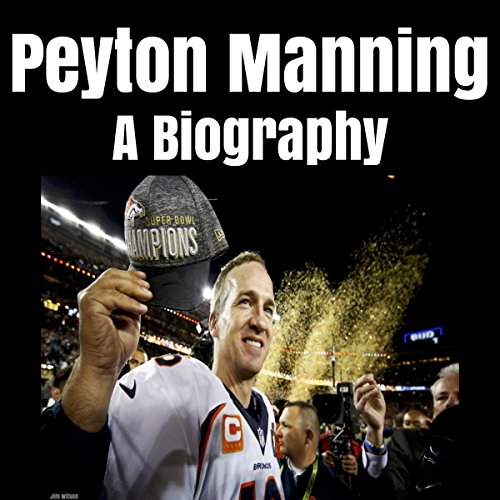 Peyton Manning audiobook cover art
