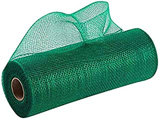 Emerald Green Christmas Deco Mesh - 10