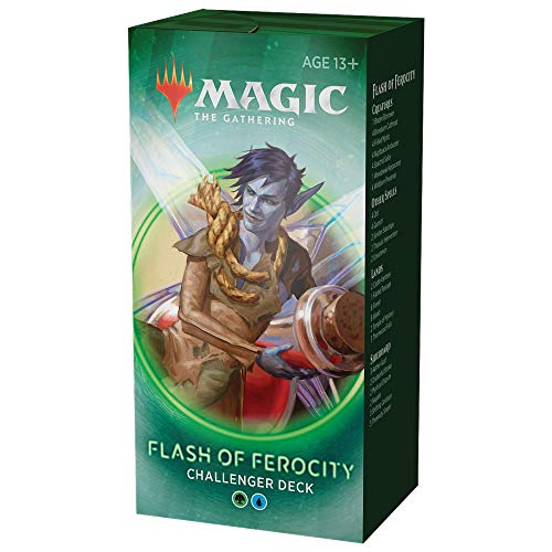 Magic The Gathering Flash of Ferocity 2020 Challenger Deck