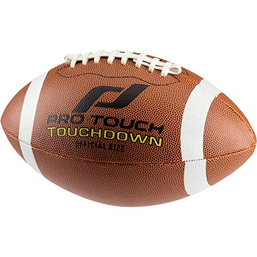 Pro Touch Touchdown American Football Ball, Braun, 7