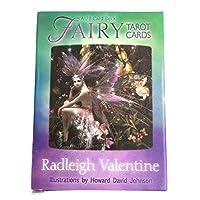 Fairy tarot 完全英語版のタロットデッキとEGuideブックEinstructionカードゲーム運命告知ゲームセット運命予測カードゲーム