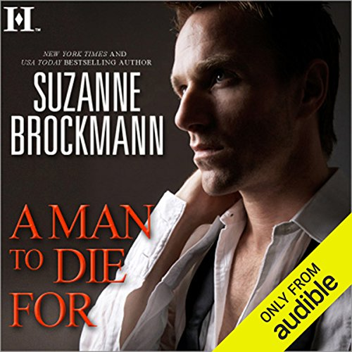 A Man to Die For audiobook cover art