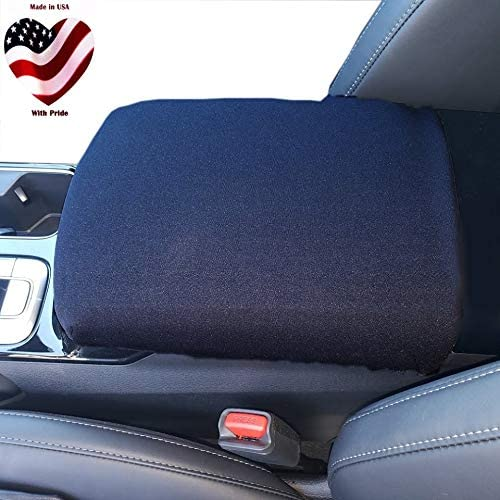 Waterproof Black Soft and Provides Excellent Protection Medium - One Pair Protect Fold Down Armrest with a CR Grade Neoprene Auto Armrest Covers for Toyota Tundra 2000-2007 Truck SUV