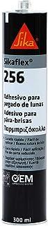 Sikaflex-256, Adesivo para Colagens de Vidros Automotivos, Sem a Necessidade de Primer, Cartucho 300ml, Preto