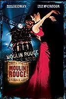 MOULIN ROUGEMOVIEアートプリントポスターホームウォールデコレーションアートプリントポスターキャンバスウォールアートウォールデコレーション写真ホームオフィスデコレーション50x75cmフレームなし