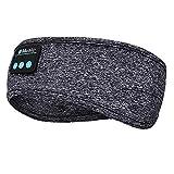 LINGSFIRE Casque de Sommeil sans Fil, Bluetooth V5.0 Bandeau de Sport Ecouteurs avec Ultra-Fins HD...