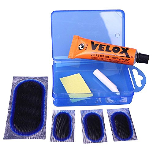 Velox Tubeless Tyre Repair Kit - No Seal/Bicycle Cycle Cycling Biking Bike Flat Tire Mountain MTB Road Maintenance Workshop Fix Accessories Patch Essential Fixing Cement Solution Lightweight Tool