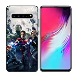 Avenger-Captain Marvel-Ironman Black Soft Silicone Phone TPU Case Cover Coque-Samsung Galaxy S10 Plus-7