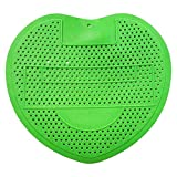Aromatische Kugel Dreieck Block Filter Lederpolster Urinal Fragrance Toiletten-Matte Badezimmer Supplies (Farbe Random)