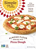 Simple Mills Almond Flour, Cauliflower Pizza Dough Mix, Gluten Free, Made with whole foods,...